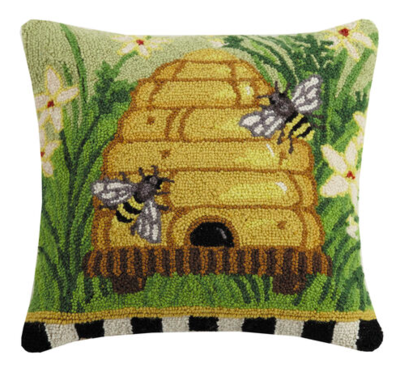 Bees please pillow