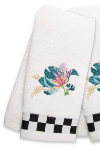Parrot Tulip Fingertip Towel