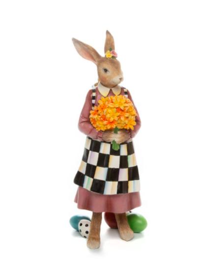 Country stroll Mrs Rabbit