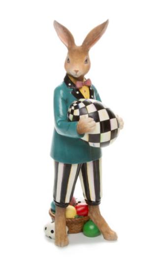 Country stroll Mr Rabbit