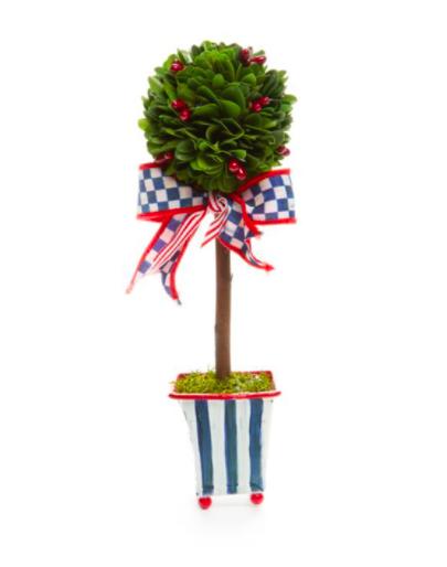 Boxwood topiary americana