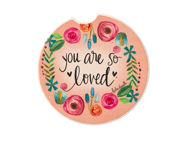 Car coasters you are loved
