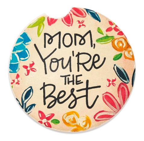 Car coasters mom