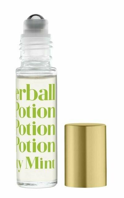 Rollerball mint lip potion