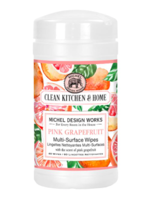Multi surface wipes pink grapefruit