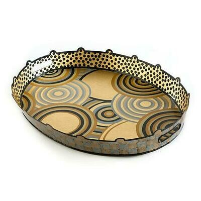 Golden hour tray large