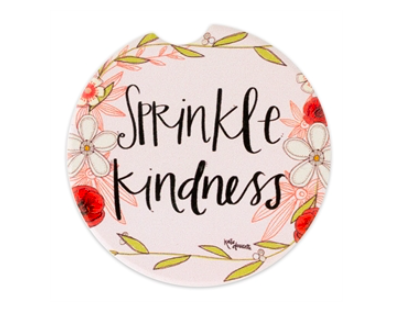 Car coasters sprinkle kindness