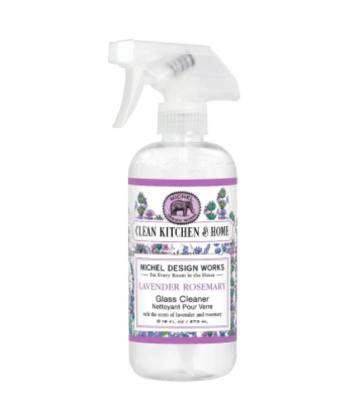 Glass cleaner lavender rosemary