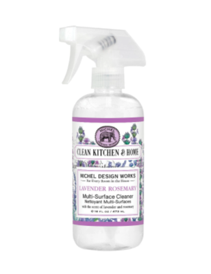 Multi surface cleaner lavender rosemary