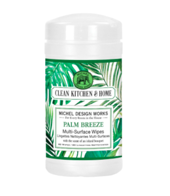 Multi surface wipes palm breeze