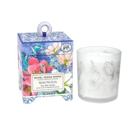 Soy wax candle magnolia 6.5 oz