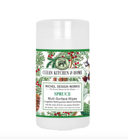 Multi surface wipes spruce
