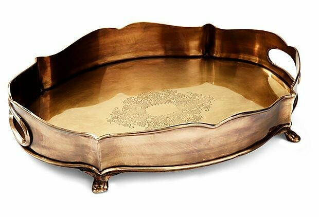Chippendale tray