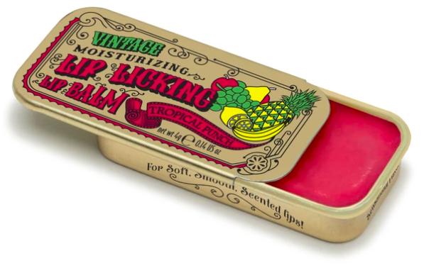 Lip licking tropical punch lip balm