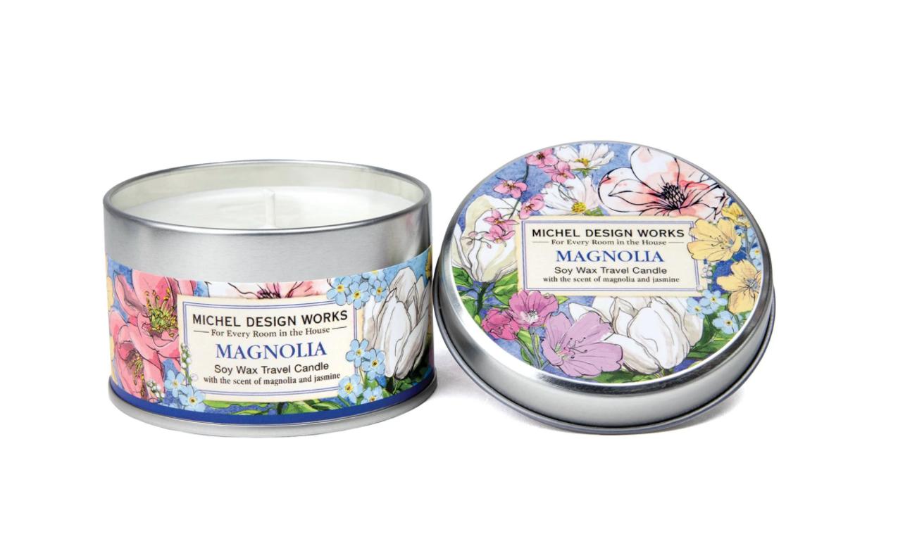 Travel candle magnolia