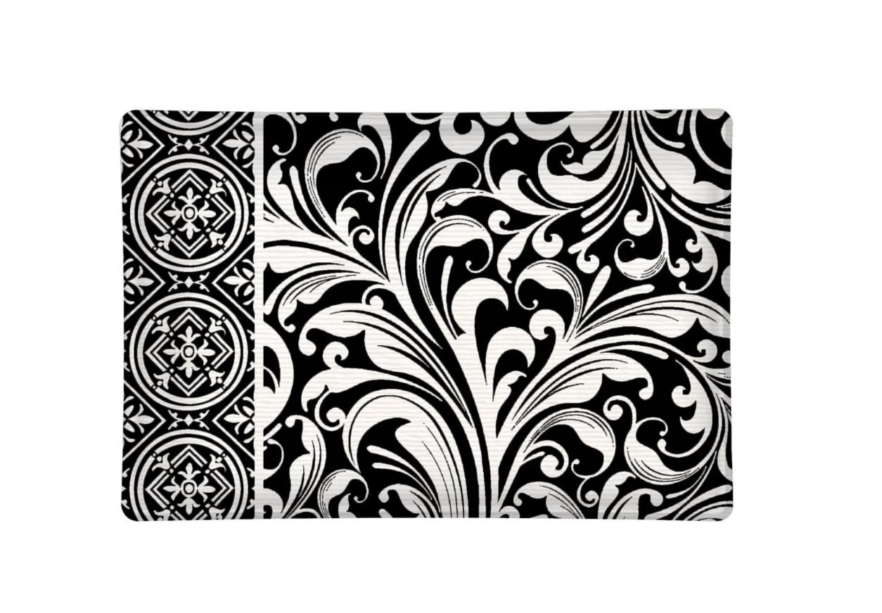Soap dish black florentine