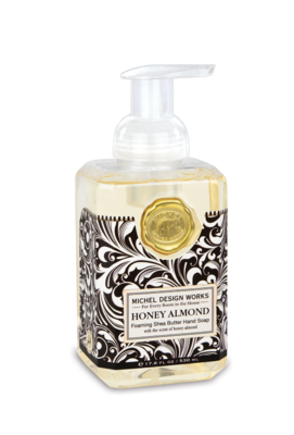 Foaming soap honey almond