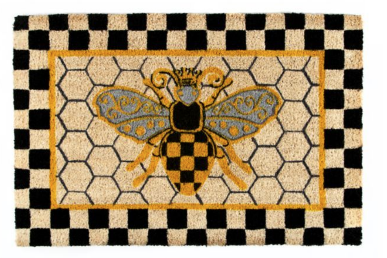 Queen bee entrance mat