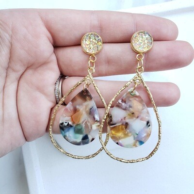 Savannah earrings multi