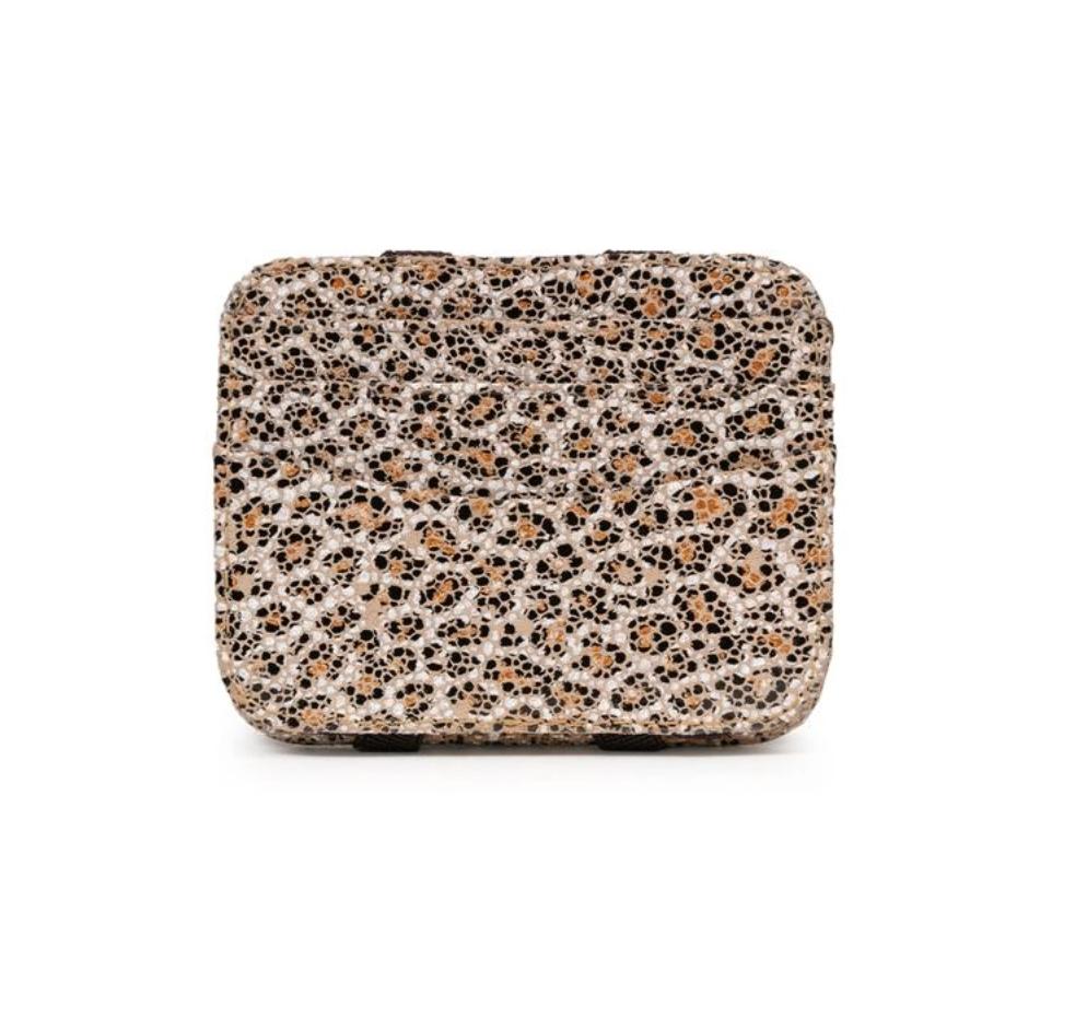 Magic wallet mini sand leopard