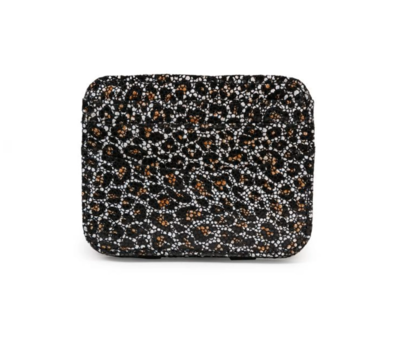 Magic wallet mini black leopard