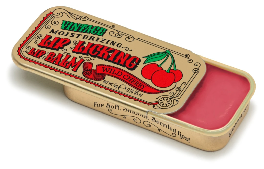 Lip licking cherry balm