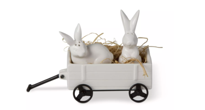 Bunny 3 piece salt and pepper set