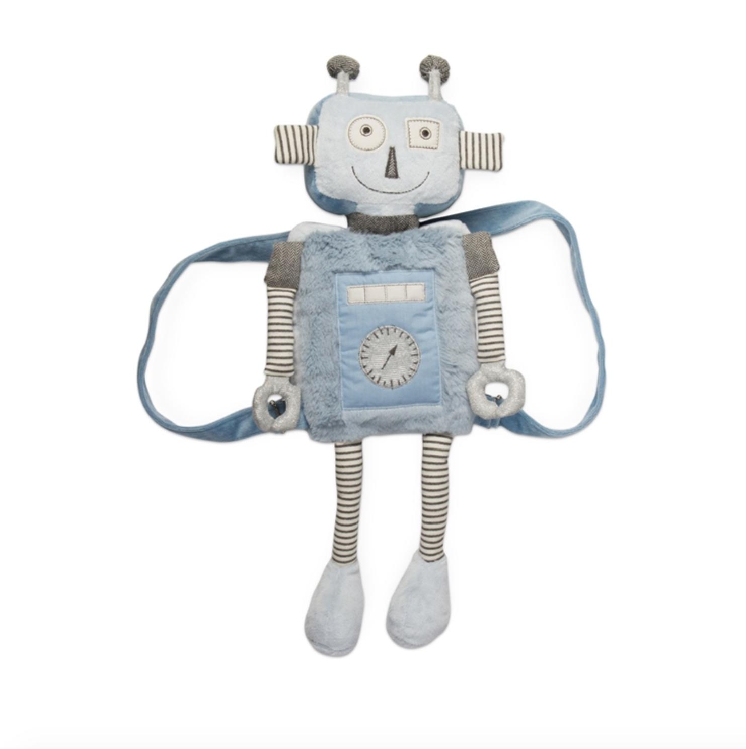 Backpack robot