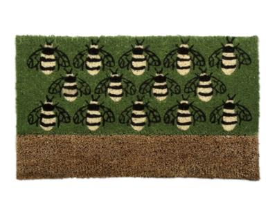 Coir mat busy bees