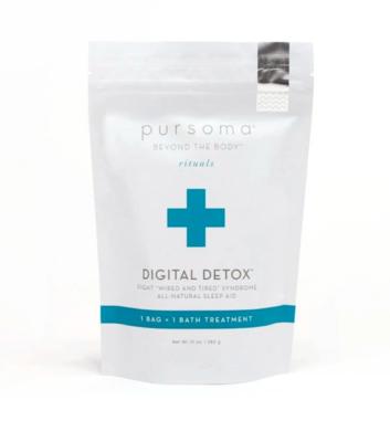 Digital detox bath treatment