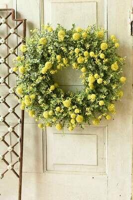 """22"""" Garden Bliss Wreath"""