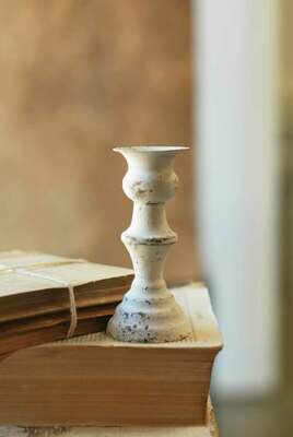 "5.5"" Alette Candle Holder Cream"