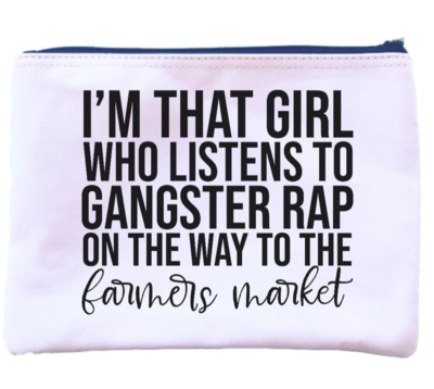 I'm that girl pouch