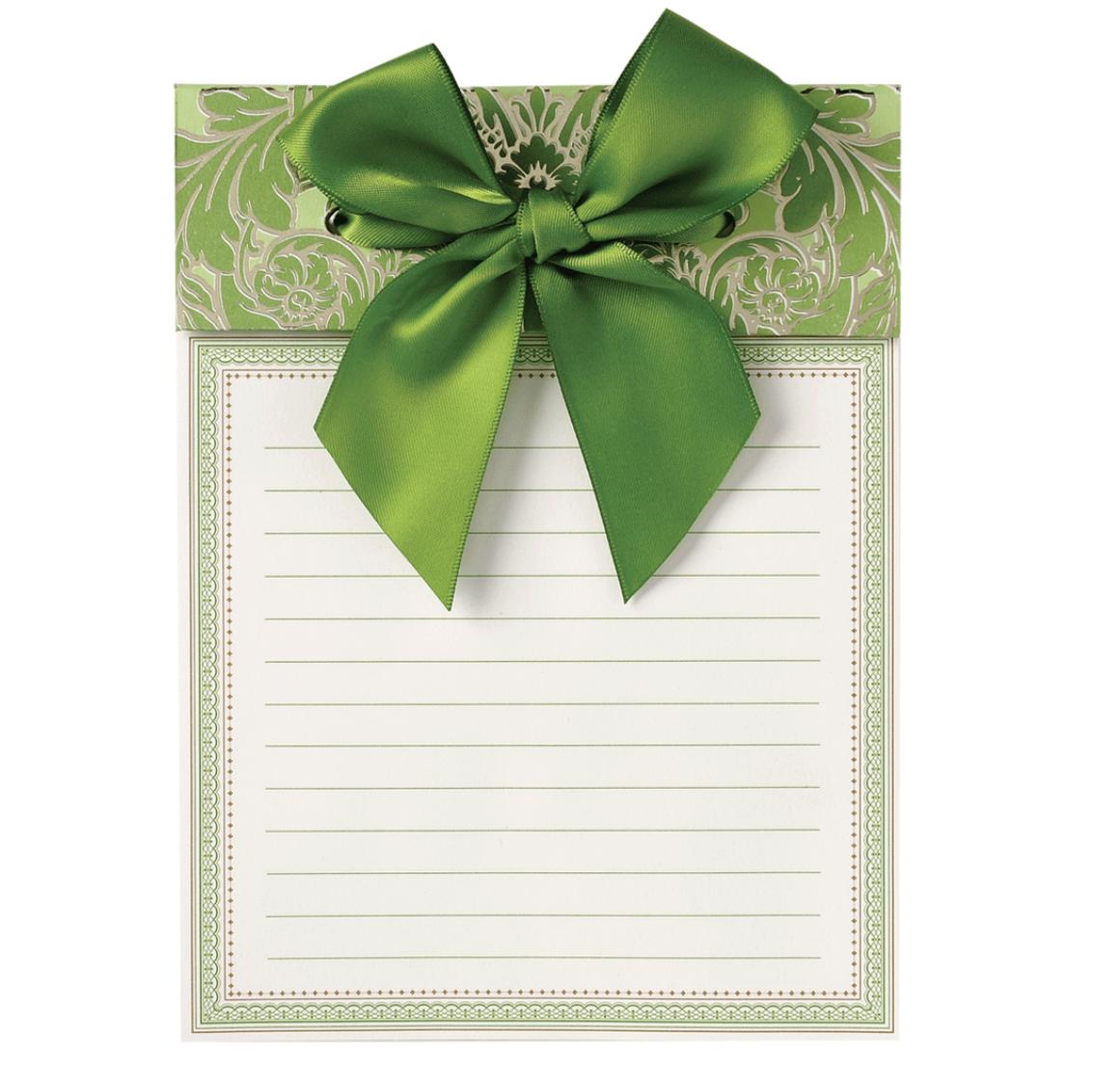 Bow pad green
