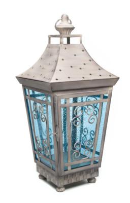 Garden pillar lantern large