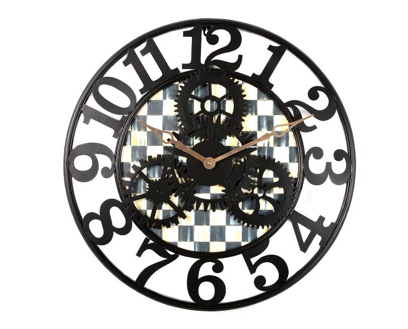 CC farmhouse wall clock small