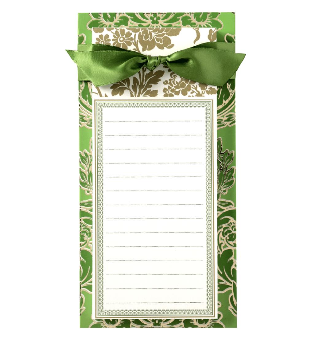 List pad green