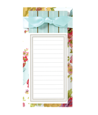 List pad rose white