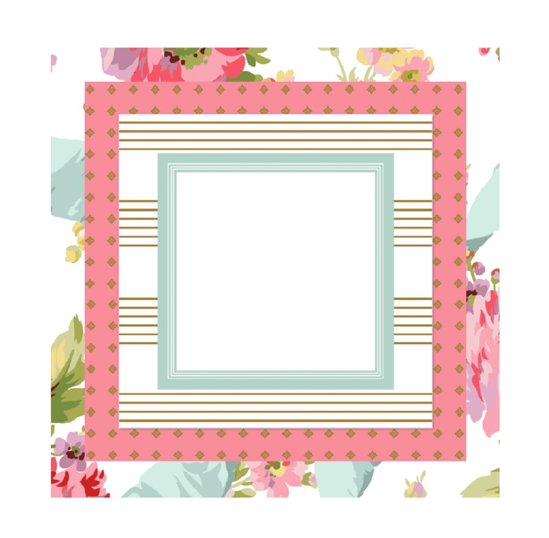 Triple pad rose white