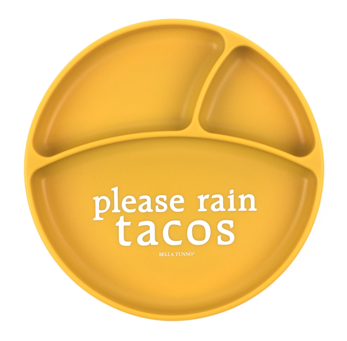Wonder plate rain tacos