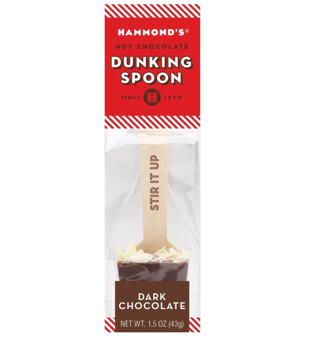 Dunking spoon dark chocolate