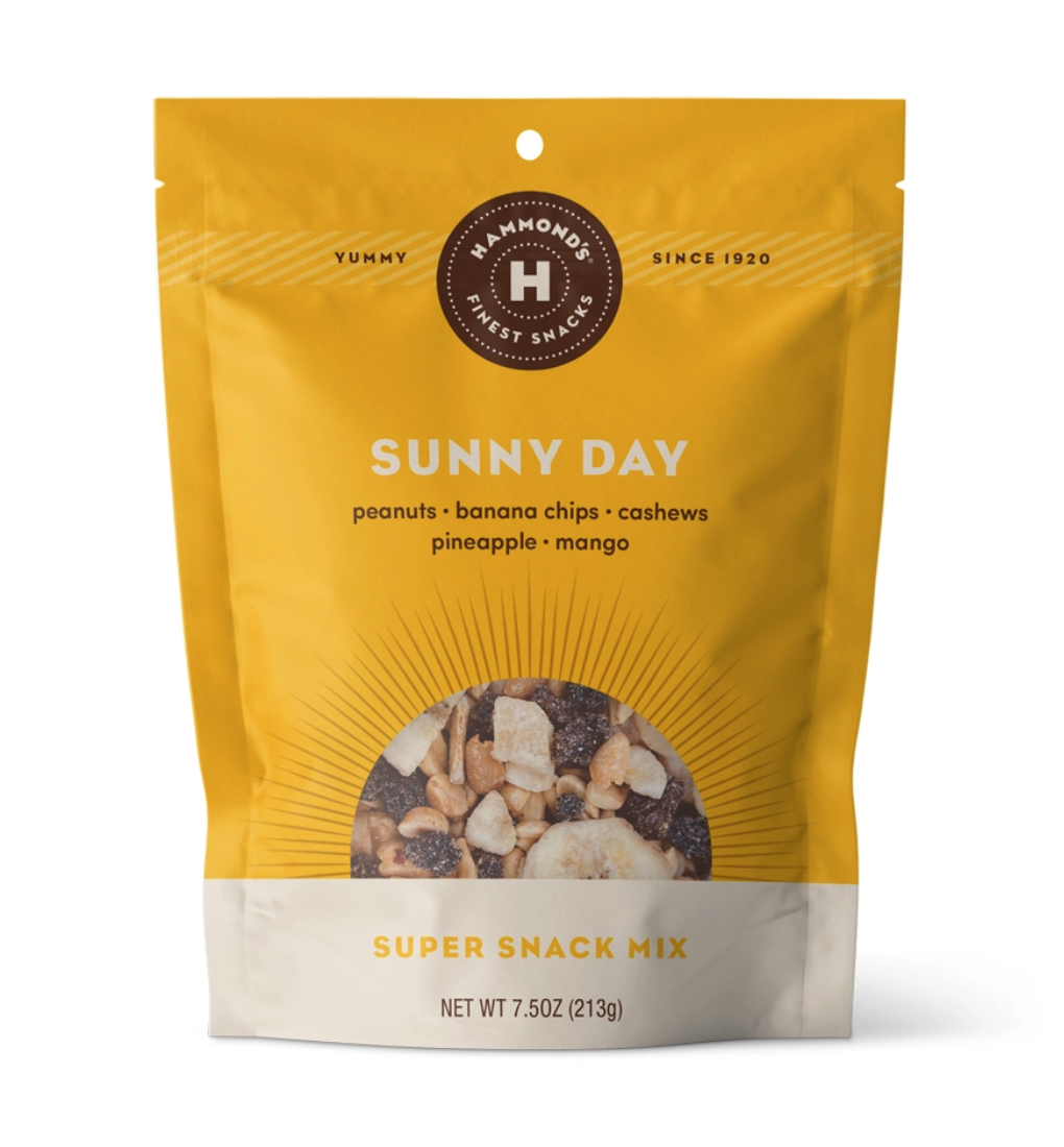 Snack mixes sunny day