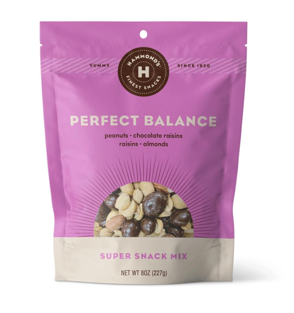 Snack mixes perfect balance