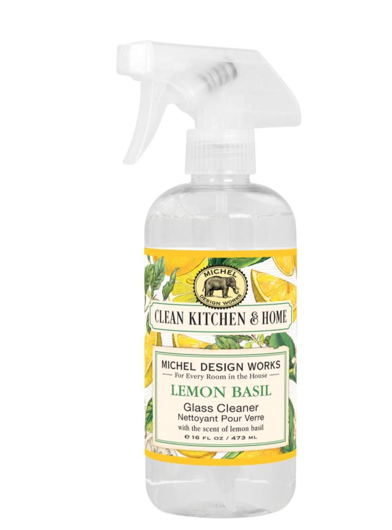 Glass cleaner lemon basil
