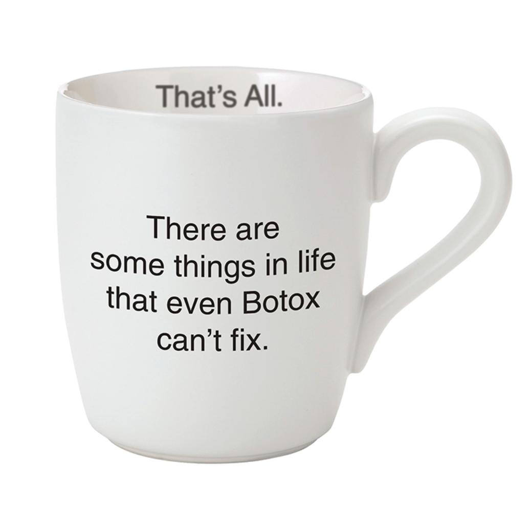 TA 16oz botox mug