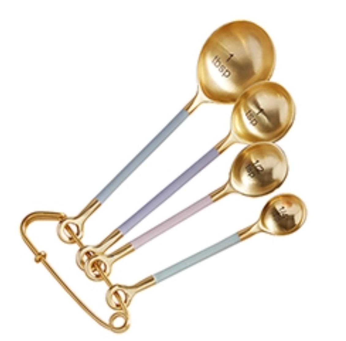 Measuring spoon matte gold