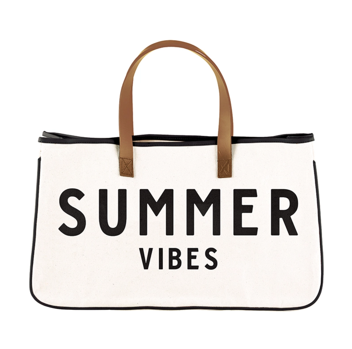 Canvas tote summer vibes
