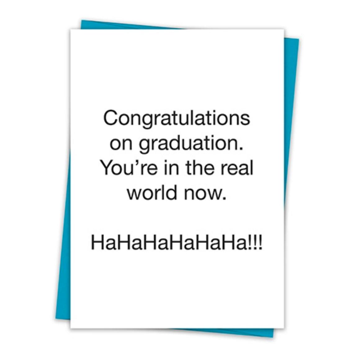 TA Card congratulations on your graduation