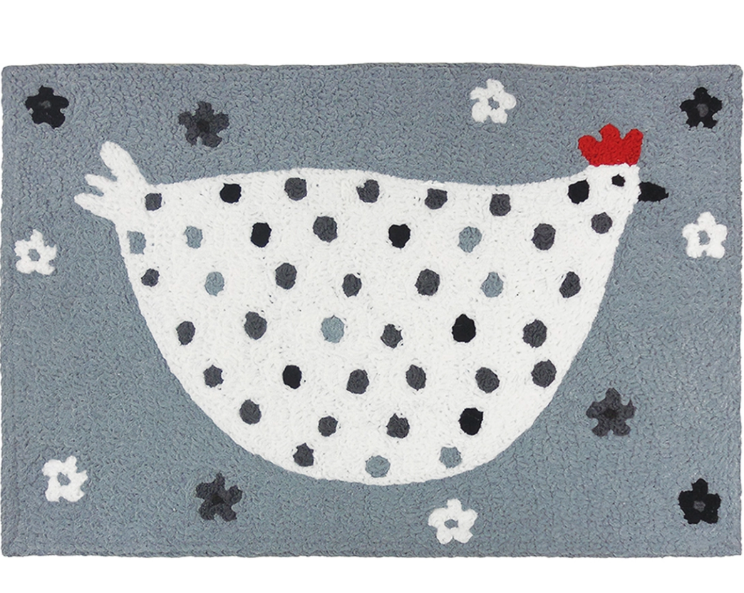 Accent Rug Cool Grey Chick