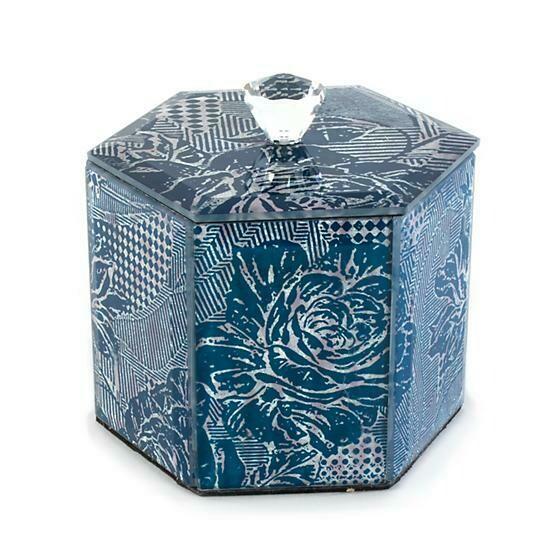 Royal Rose Cotton Box